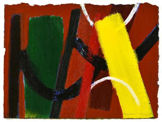 Wilhelmina Barns-Graham, 'Untitled', 2000, Painting, Acrylic on paper, Waterhouse & Dodd