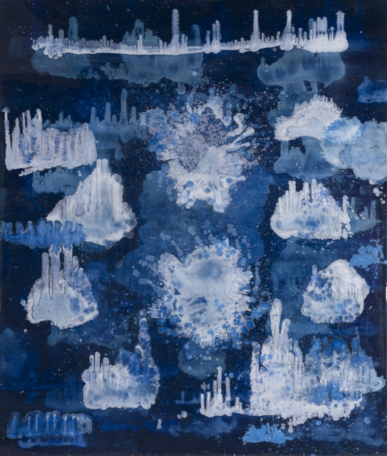 , 'Help me Somebody (Le Grand Bleu 2),' 2015, JanKossen Contemporary