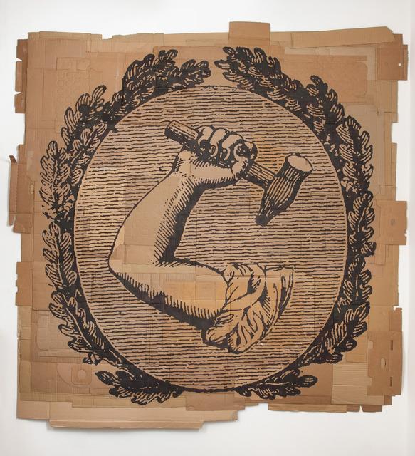 ", 'The Republic of Labor (""The Union"", June 14th, 1836),' 2013, Susanne Vielmetter Los Angeles Projects"