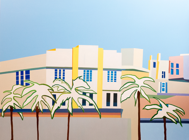 Vasilena Gankovska, 'Miami Streetview #1', 2017, Galerie Ernst Hilger