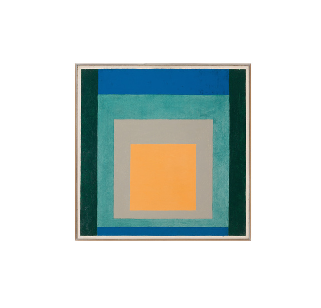 , 'Variation on Homage to the Square,' 1958, Galerie Knoell, Basel