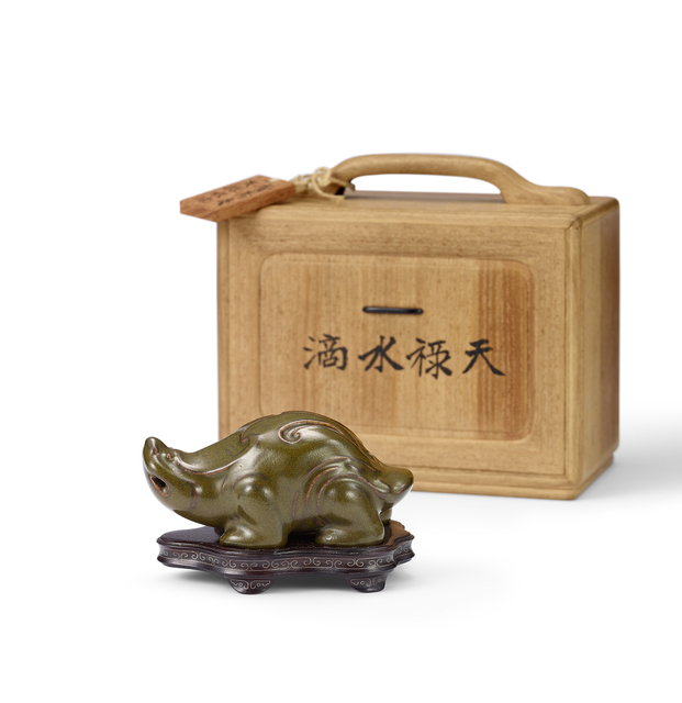 , 'AN ARCHAISTIC TEADUST GLAZED 'MYTHICAL BEAST' WATER DROPPER,' , Maria Kiang Chinese Art