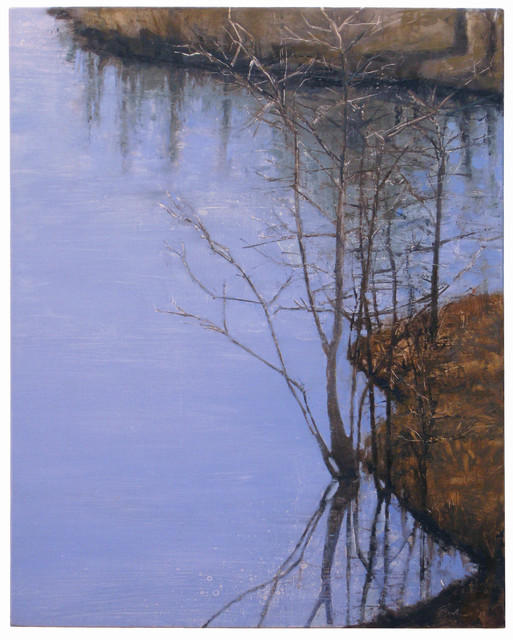 , 'Pond Reflection 1,' 2011, Albert Merola Gallery