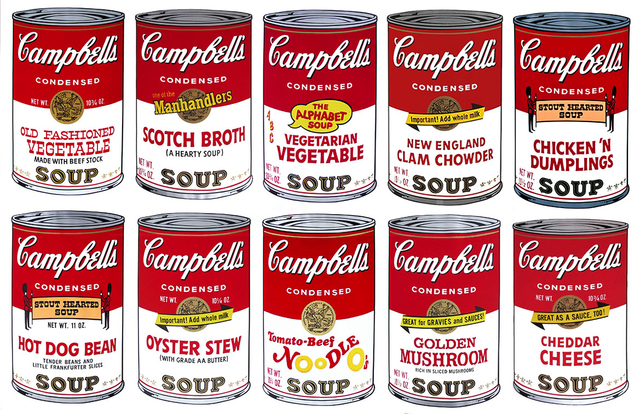 , 'Campbell's Soup II, Complete Portfolio (FS II. 54-63),' 1969, Revolver Gallery