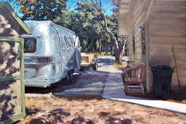 Scott W. Prior, 'The Man Shack', 2016, Helena Fox Fine Art