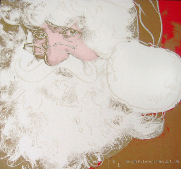 Andy Warhol, 'Myths: Santa Claus', 1981-1985, Joseph K. Levene Fine Art, Ltd.