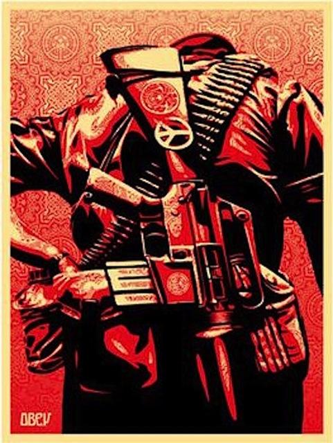 Shepard Fairey (OBEY), 'Duality of Humanity #3', 2008, Gregg Shienbaum Fine Art