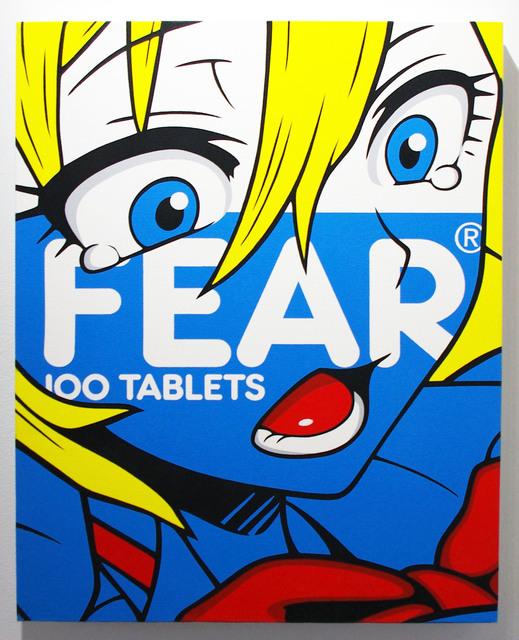 , 'FEAR (Blue),' 2018, Vertical Gallery