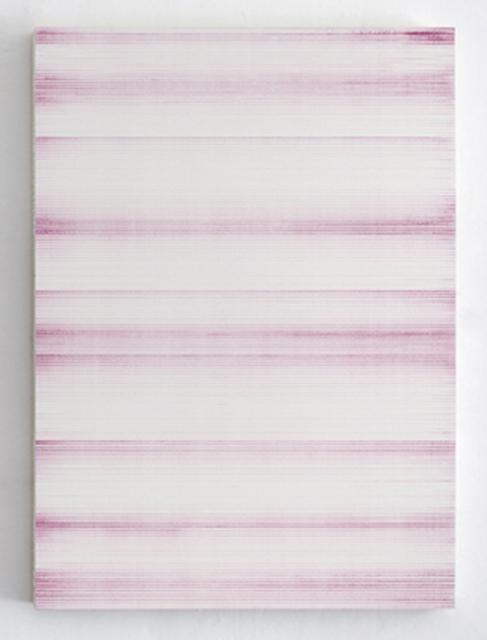 , 'Untitled (Dark Magenta),' 2015, Krobath