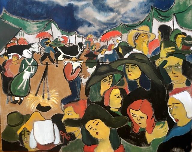 , 'Market Scene,' 2017, Projet Pangée