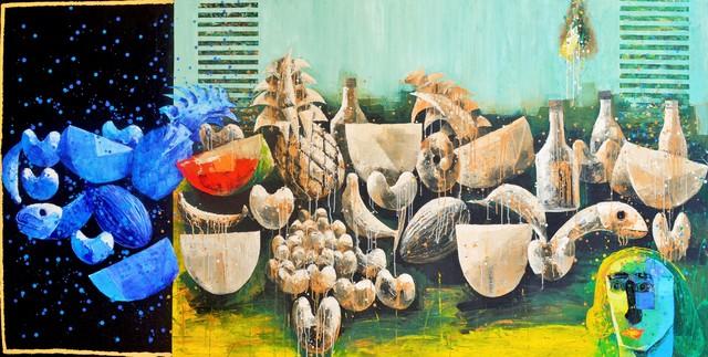 , 'BODEGON CON CABEZA,' 2014, Jorge Mendez Gallery