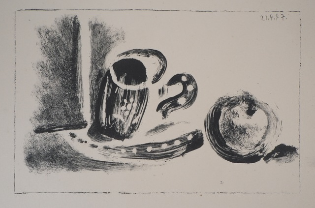 Pablo Picasso, 'Cup and apple', 1947, Plazzart