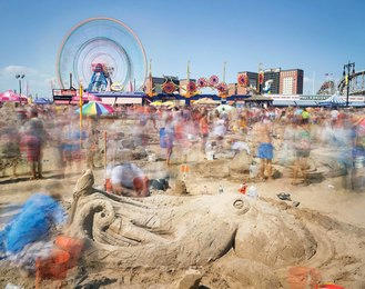 Sandcastle Competition, Coney Island