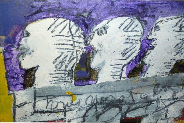 , 'Three Buddies,' 1999, Denise Bibro Fine Art