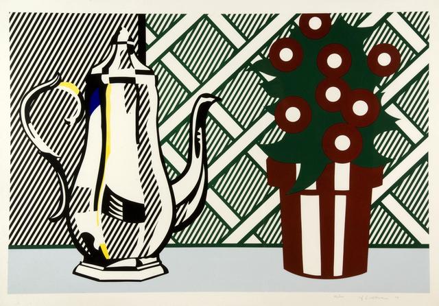 Roy Lichtenstein, 'Still Life with Pitcher and Flowers', 1974, Gerald Hartinger Fine Arts