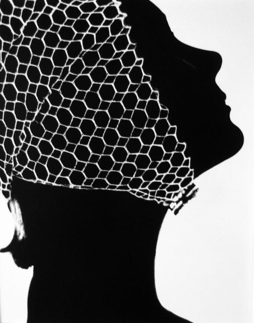 Lillian Bassman, 'Mesh Cap, California', ca. 1950, Peter Fetterman Gallery