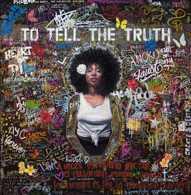 , 'To Tell the Truth ,' 2017, Peter Robertson Gallery