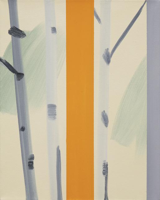 , 'Aspen Orange Stripe,' 2006, David Richard Gallery