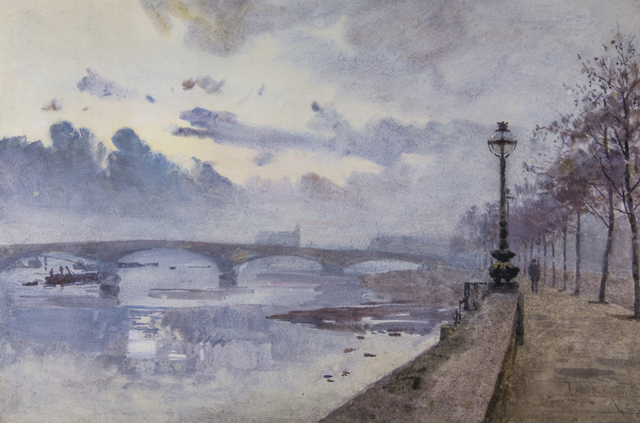 , 'A BIT OF THE THAMES ,' 1897, Chris Beetles Gallery