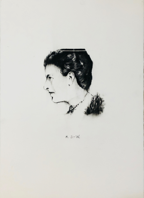 , 'Portrait M.S.-W. ( Margarethe Stonborough-Wittgenstein),' 2018, Mario Mauroner Contemporary Art Salzburg-Vienna