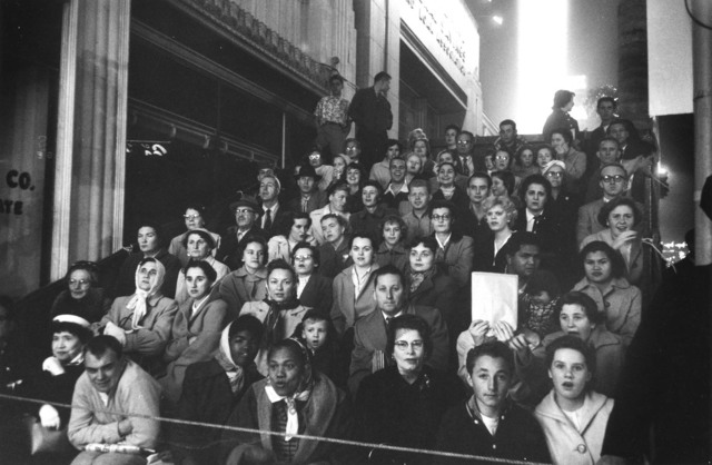 , 'Fans at a Movie Premiere. Los Angeles,' 1955, Danziger Gallery