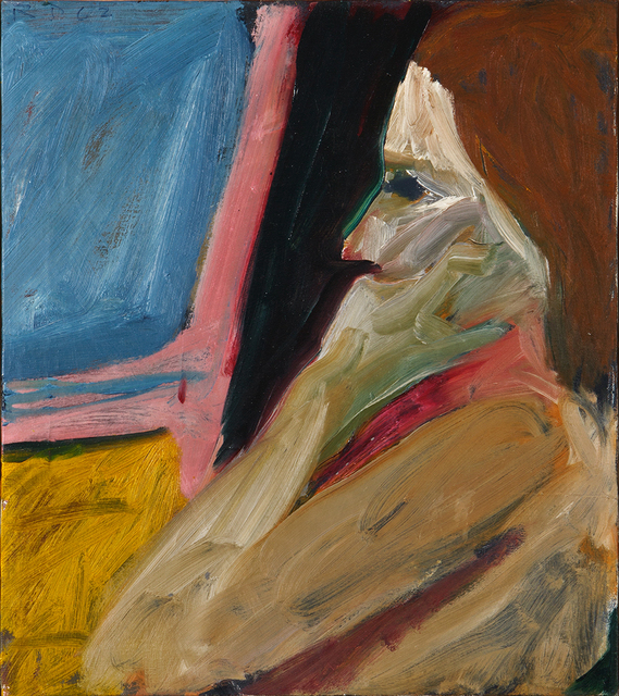 , 'Girl in Profile,' 1962, Edward Tyler Nahem Fine Art LLC