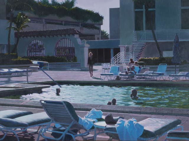 , 'Miami Spa at Twilight,' 2009, Bernarducci Meisel Gallery
