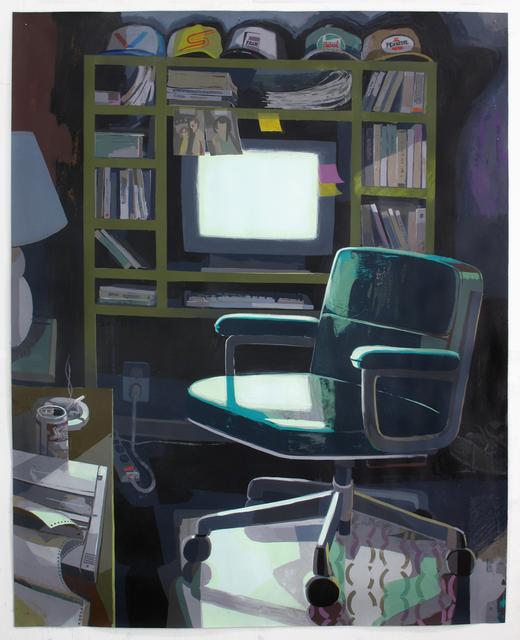 , 'Dad's Home Office,' 2016, Zürcher, New York | Paris