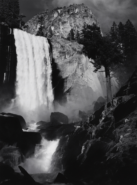 Ansel Adams, 'Vernal Fall, Yosemite, CA', 1948, Seagrave Gallery