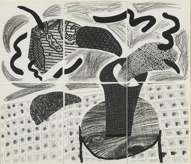 , 'Black Plant on Table,' 1986, ARCHEUS/POST-MODERN