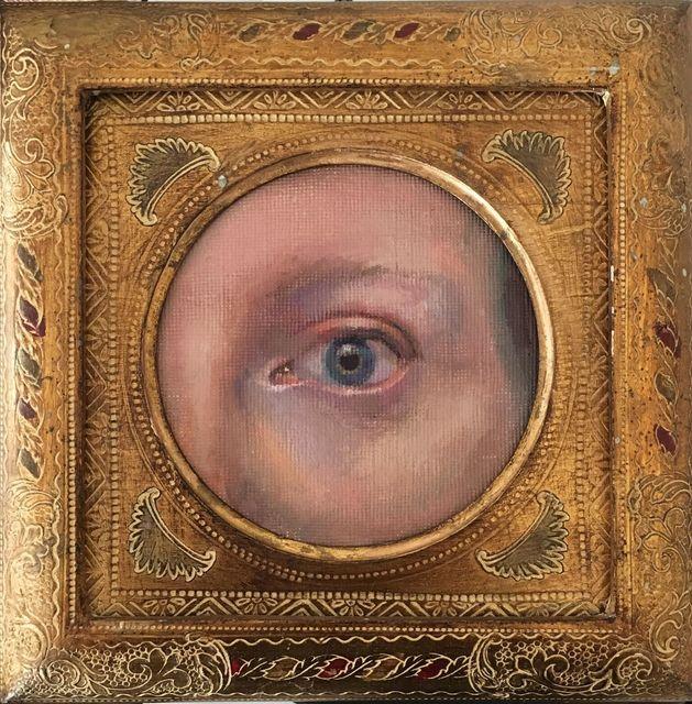, 'Victorian Eye Portrait,' 2017, Carrie Haddad Gallery