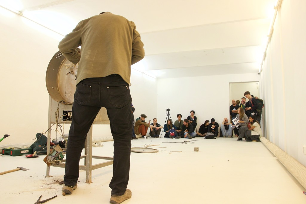 Opening, performance - Martin Zet