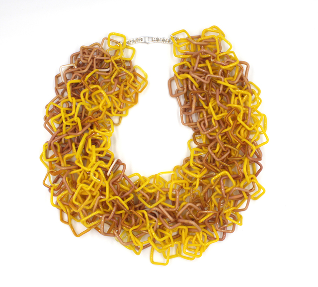 , 'Yellow Necklace,' 2017, Facèré Jewelry Art Gallery