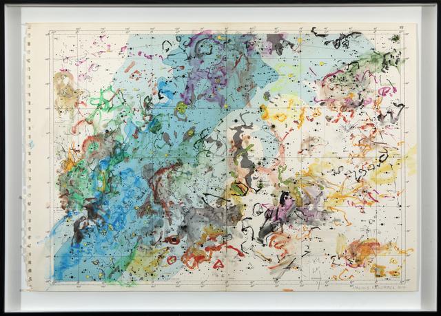 , 'Exploring 1950 Celestial Maps VII,' 2017, Barnard