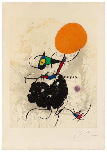 Joan Miró, 'Terre Atteinte et Soleil Intact', Hindman