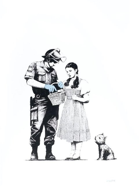 Banksy, 'Stop and Search', 2007, Oliver Clatworthy