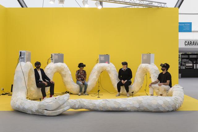 , 'Transdimensional Serpent,' 2016, MCA Chicago