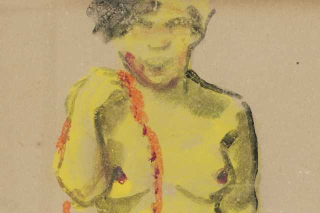 , 'Standing Female Nude,' ca. 1910, Galerie St. Etienne