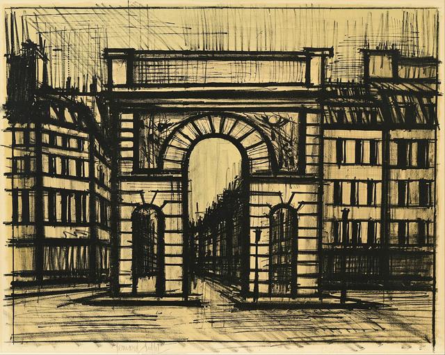 Bernard Buffet, 'La Porte Saint-Martin', 1962, Le Coin des Arts