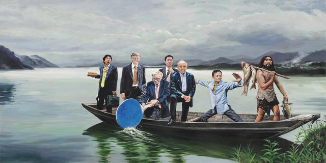 , 'Go ashore 上岸,' 2018, Amy Li Gallery