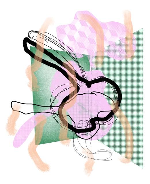 , 'pink_cherry,' 2018, BERG Contemporary