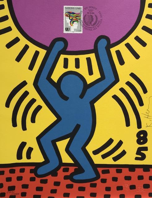 Keith Haring, 'International Youth Year', 1985, Denis Bloch Fine Art
