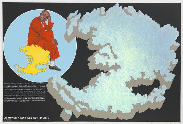 , 'Le Monde avant les continents,' 2011, Magnin-A