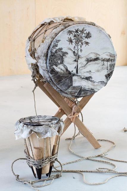 , 'Palenqueros - Drum Pechiche,' 2013, Dohyang Lee
