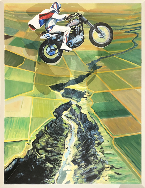 Andrew Krieger, 'Writing Wrongs: The Snake River Canyon Jump, September 8th, 1974', 2019, David Klein Gallery