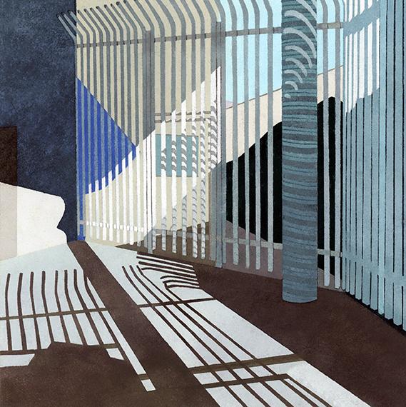 , 'Border Series #8,' 2014, Michael Warren Contemporary