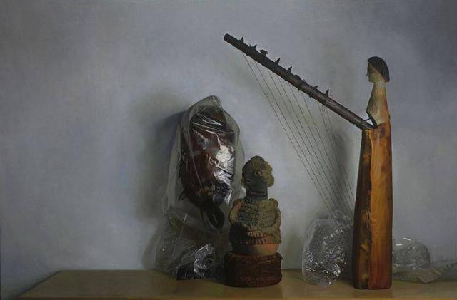, 'Lumumba's Harp,' 2012, Bill Hodges Gallery