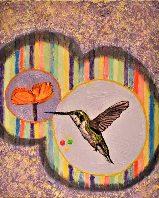 , 'Hummingbird Talk,' 2017, Linda Warren Projects