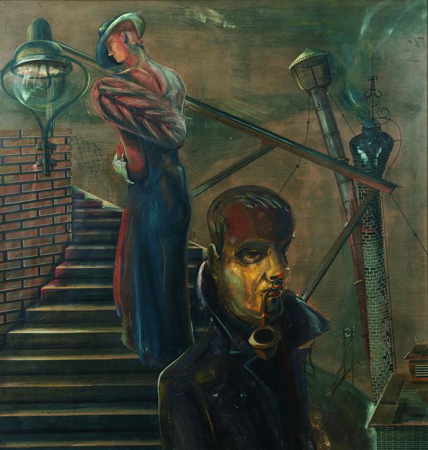 , ''Begegnung',' ca. 1938, Galerie Valentien