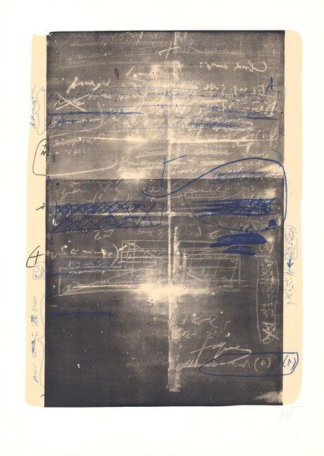 Antoni Tàpies, 'Oevre grave', 1970-1980, ARTEDIO